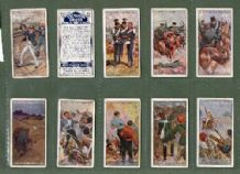 Tobacco cards Cigarette cards Victoria Cross 1914 set of 25